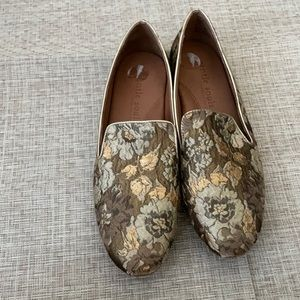 Gentle souls fabric loafer 9.5